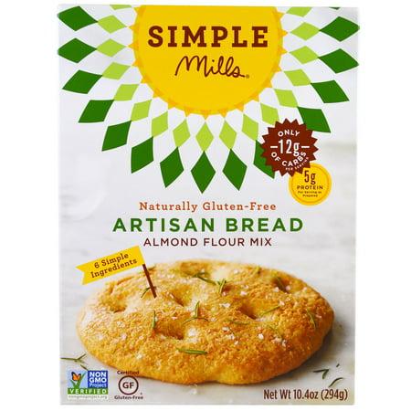 Artisan Mix (Simple Mills, Naturally Gluten-Free, Almond Flour Mix, Artisan Bread, 10.4 oz (pack of 2))