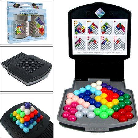 Lonpos 066 Colorful Cabin Brain Intelligence Game - Kids Brain Games