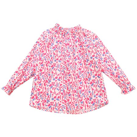 Girls' Floral Print Top RH1711