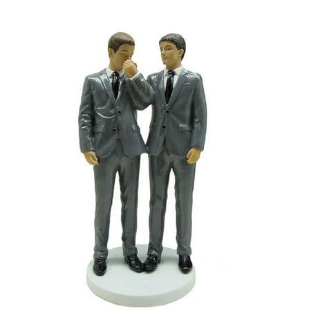 December Diamonds Everlasting Love Grooms Gay Wedding Cake Topper 5555200 New (Camo Wedding Cakes)