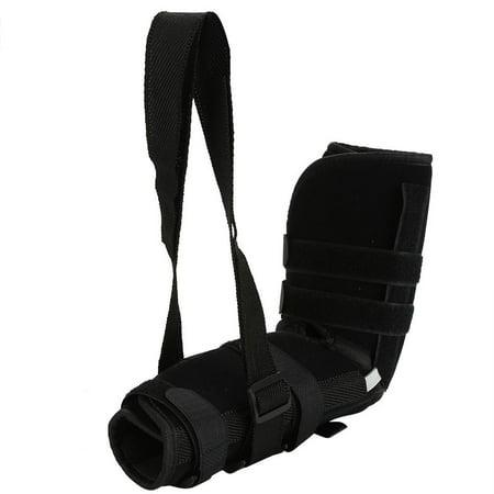 (Yosoo Arm Sling Shoulder Immobilizer Adjustable Arm Support Brace Wrist Sprain Forearm Fracture, Arm Support Brace, Shoulder Immobilizer)