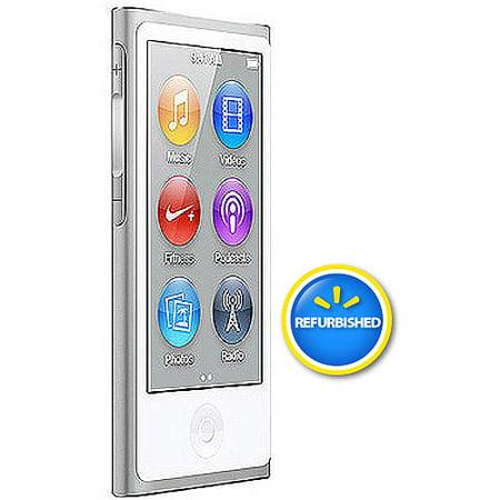 Apple iPod nano 16GB Refurbished - Walmart.com