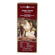 Surya Brasil - Henna Cream Hair Coloring with Organic Extracts Golden Brown
