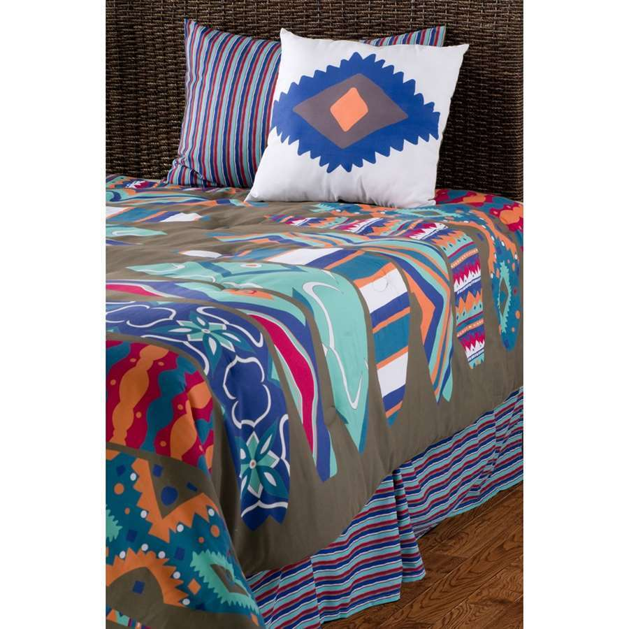 Rizzy Home Surfs Up Kids Comforter Bed Set