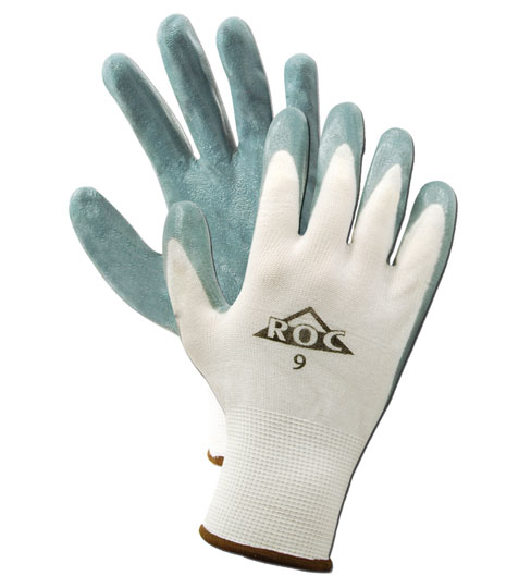 Magid ROC Foam Nitrile Palm Coated Gloves Size 7, 12 Pairs