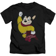 Mighty Mouse - Classic Hero - Juvenile Short Sleeve Shirt - 4