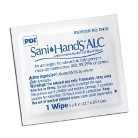 Alcohol Sani Hand Wip 9.86Lbs 100Ea/Bx by Sani-Hands ALC, Alcohol Sani Hand Wip 9.86Lbs 100Ea/Bx By SaniHands ALC