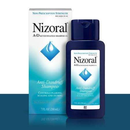 2 Pack, Nizoral Clinical Strength A-D Anti-Dandruff Shampoo, 7 (Best Smelling Shampoo India)