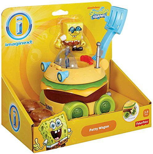 Fisher-Price Imaginext SpongeBob SquarePants Krabby Patty Wagon - image 1 of 1