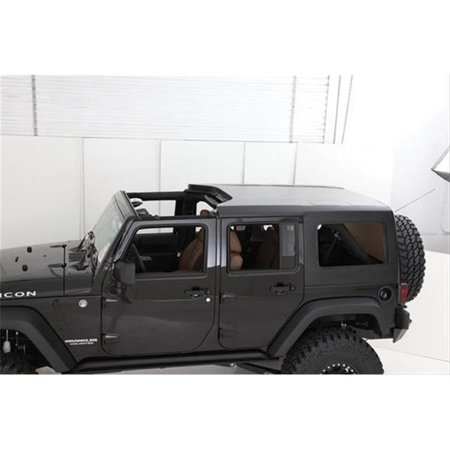 Cargo Restraint System - smitty bilt 581035 2007-2013 jeep wrangler cargo restraint system, 4 door - black diamond