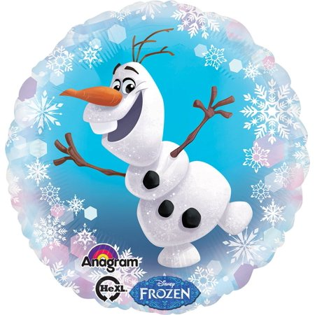 Frozen Party Balloons (Frozen Olaf 18