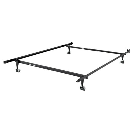 Adjustable Twin/Single or Full/Double Metal Bed Frame - Walmart.com