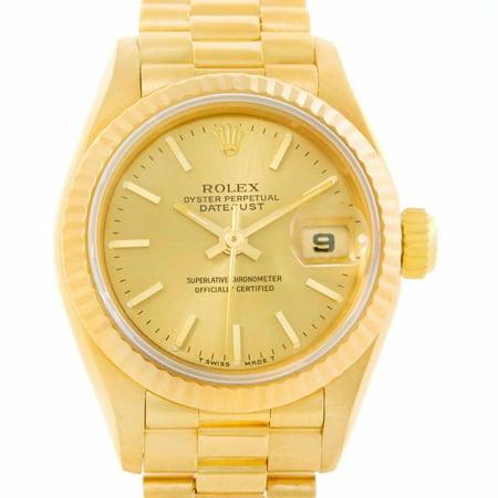 Rolex Datejust 69178 Gold Women Watch (Certified Authentic & Warranty)