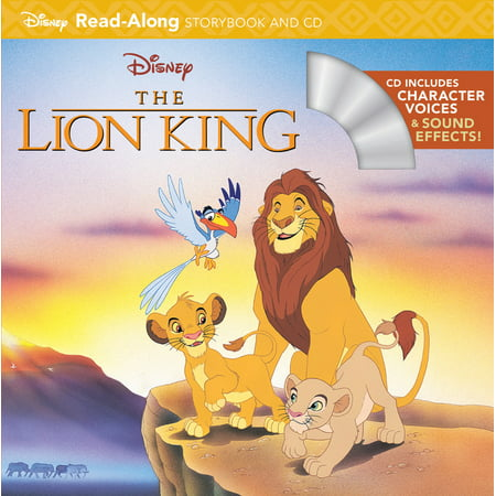 The Lion King Read-Along Storybook and CD (Halloween Story Read Along)