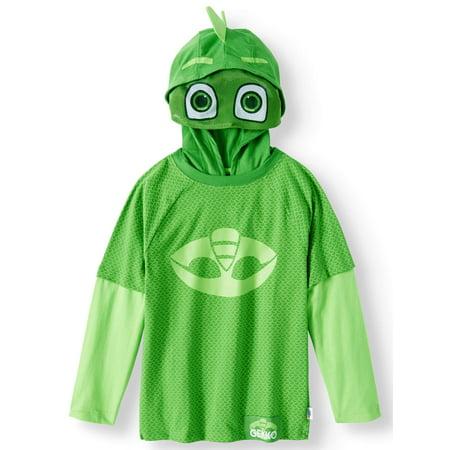 PJ Masks Short Sleeve Gekko Costume Tee (Little Boys) for $<!---->