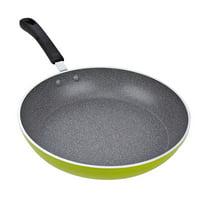 "GHP 12"" Green Aluminum Nonstick Coating Induction Bottom Frying Saute Skillet Pan"