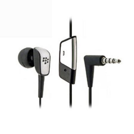 Headset MONO 3.5mm OEM Handsfree Earphone Single Earbud Headphone Earpiece Microphone Wired [Black] Compatible With iPhone SE 5C 5 L2A