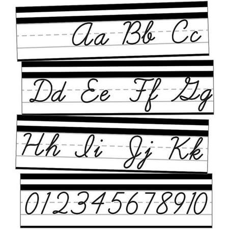 Carson Dellosa CD-110411 Alphabet Line Cursive Mini