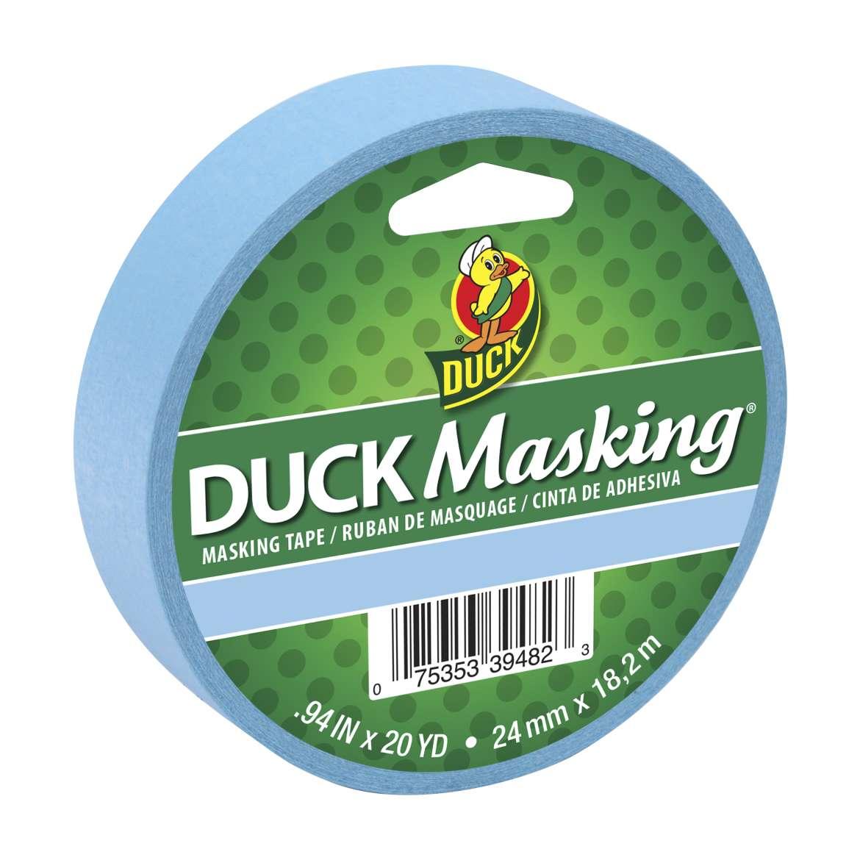 Duck Brand Duck Color Masking Tape Light Blue 20yd
