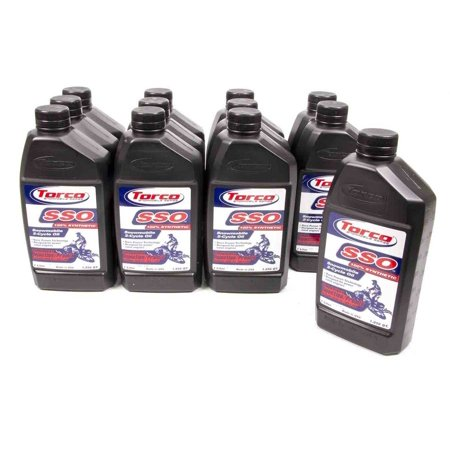 Torco SSO Snowmobile 2 Stroke Oil 1 L Case of 12 P/N S960066C