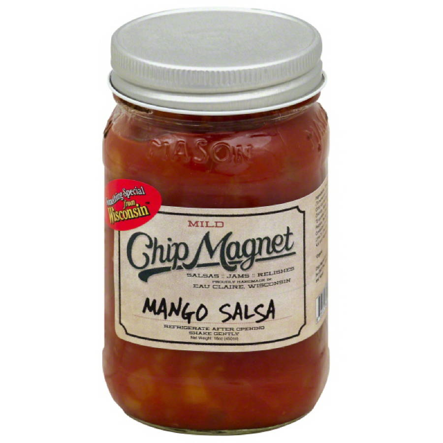 Chip Magnet Mild Mango Salsa, 16 oz, (Pack of 12)