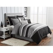 Better Homes and Garden 8-Piece Striped Geo Comforter Set