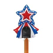 Mailbox Balloon 4th of July Decoration Patriotic Star USA