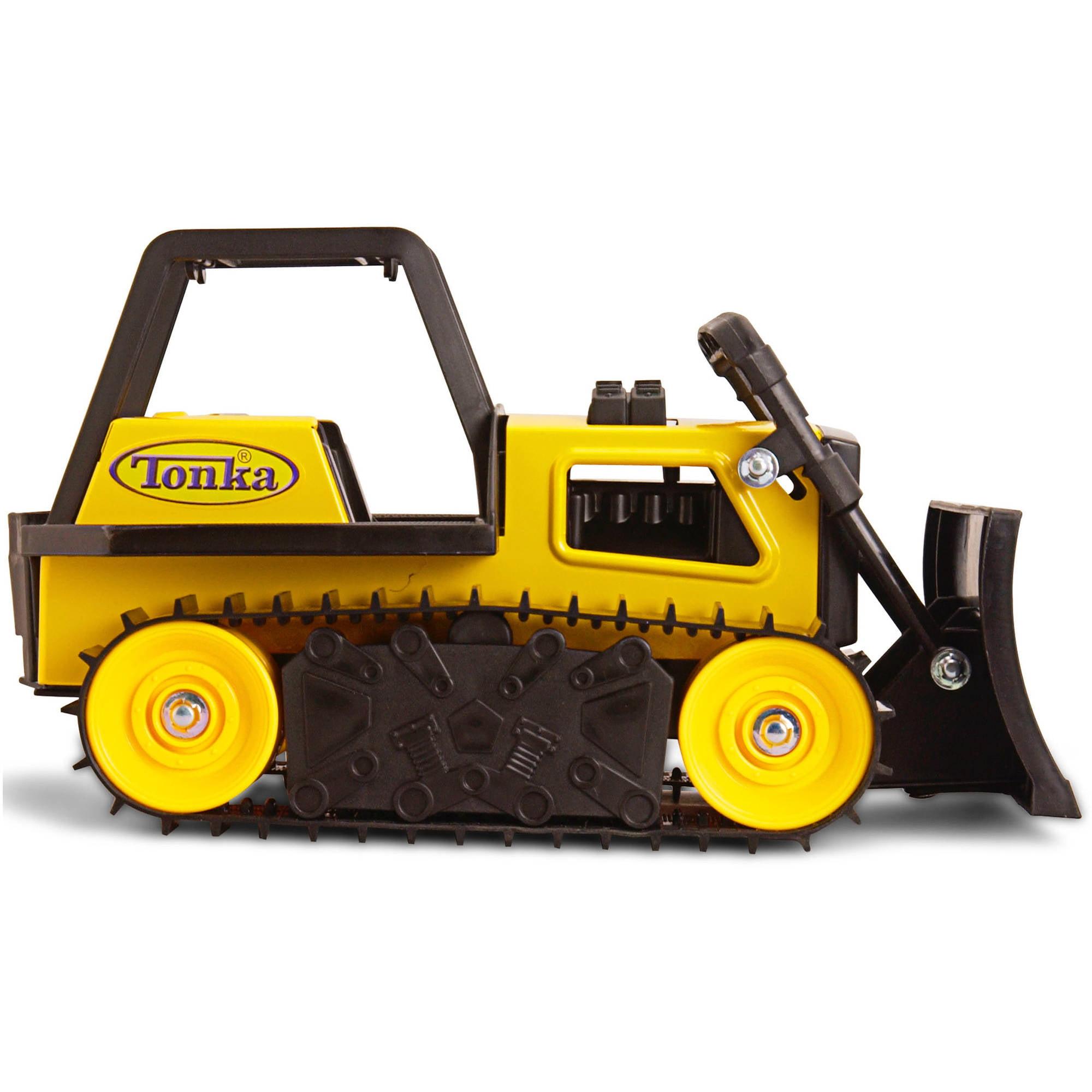 Funrise Toy Tonka Classics Steel Bulldozer