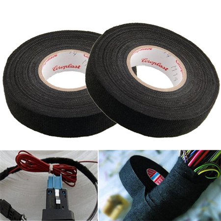 5 Rolls Wiring Loom Harness Tape Cable Looms Wiring Harness Cloth Adhesive Fabric Tape For Automobile 15m 19mm Walmart Canada