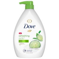 Dove Body Wash Pump Cucumber and Green Tea 34 oz
