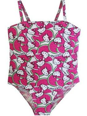 586cb5c02a7 Little Girls One-piece Swimsuits - Walmart.com