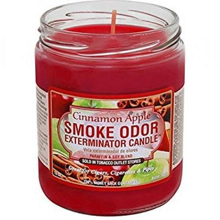 Smoke Odor Exterminator Candle Cinnamon Apple 13oz Odor Exterminator Candle
