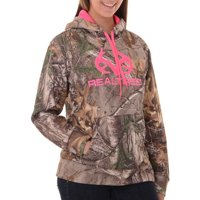 a21eefae7ccff Product Image Realtree and Mossy Oak Women's Camo Performance Pullover  Fleece Hoodie