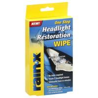 Rain X One Step Headlight Restoration Wipe (1 Pack)
