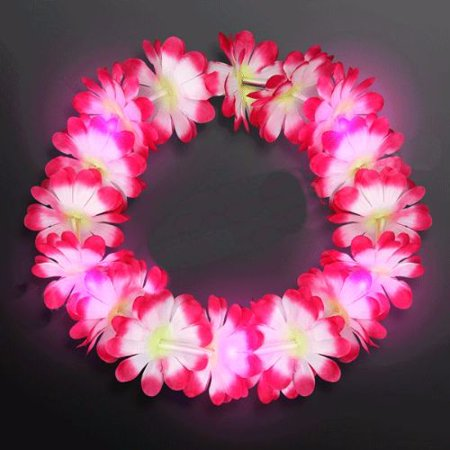 Light Up Hawaiian Lei Headband