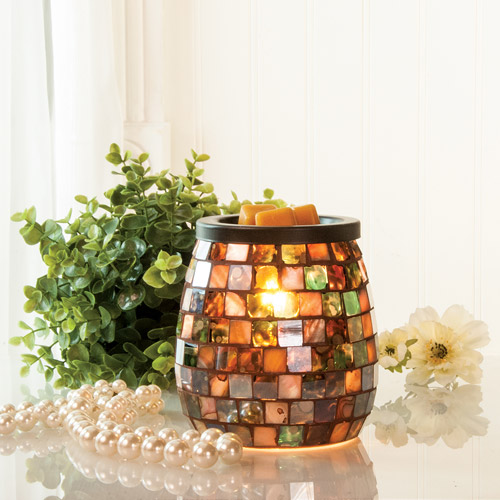 ScentSational Mosaic Wax Warmer, Monroe