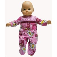 Doll Clothes Superstore Happy Cranberry Pajamas Fit 15-16 Inch Boy And Girl Baby Dolls