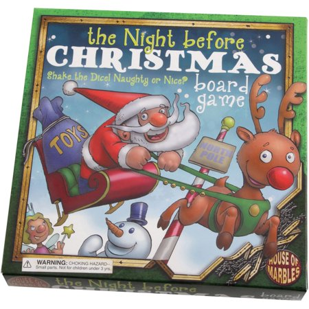 The Night Before Christmas Board Game](Game Night Theme Ideas)