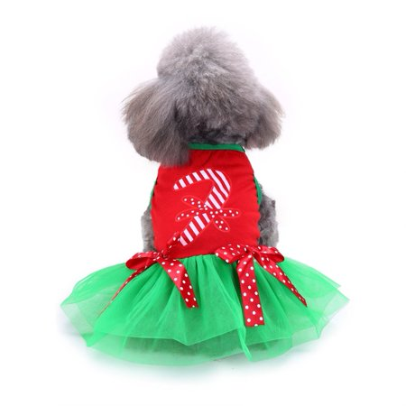 Pets Dogs Christmas Costume Winter Dog Clothes For Small Dog Clothes Dress