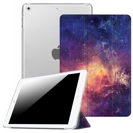 Fintie iPad mini 3 / iPad mini 2 / iPad mini Case - Translucent Frosted SlimShell Cover, Galaxy ()