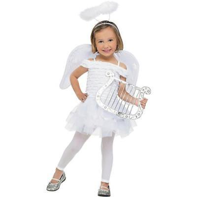 IN-13637536 Little Angel Girl Costume TODDLER 2T By Fun Express (Costume Express Website)