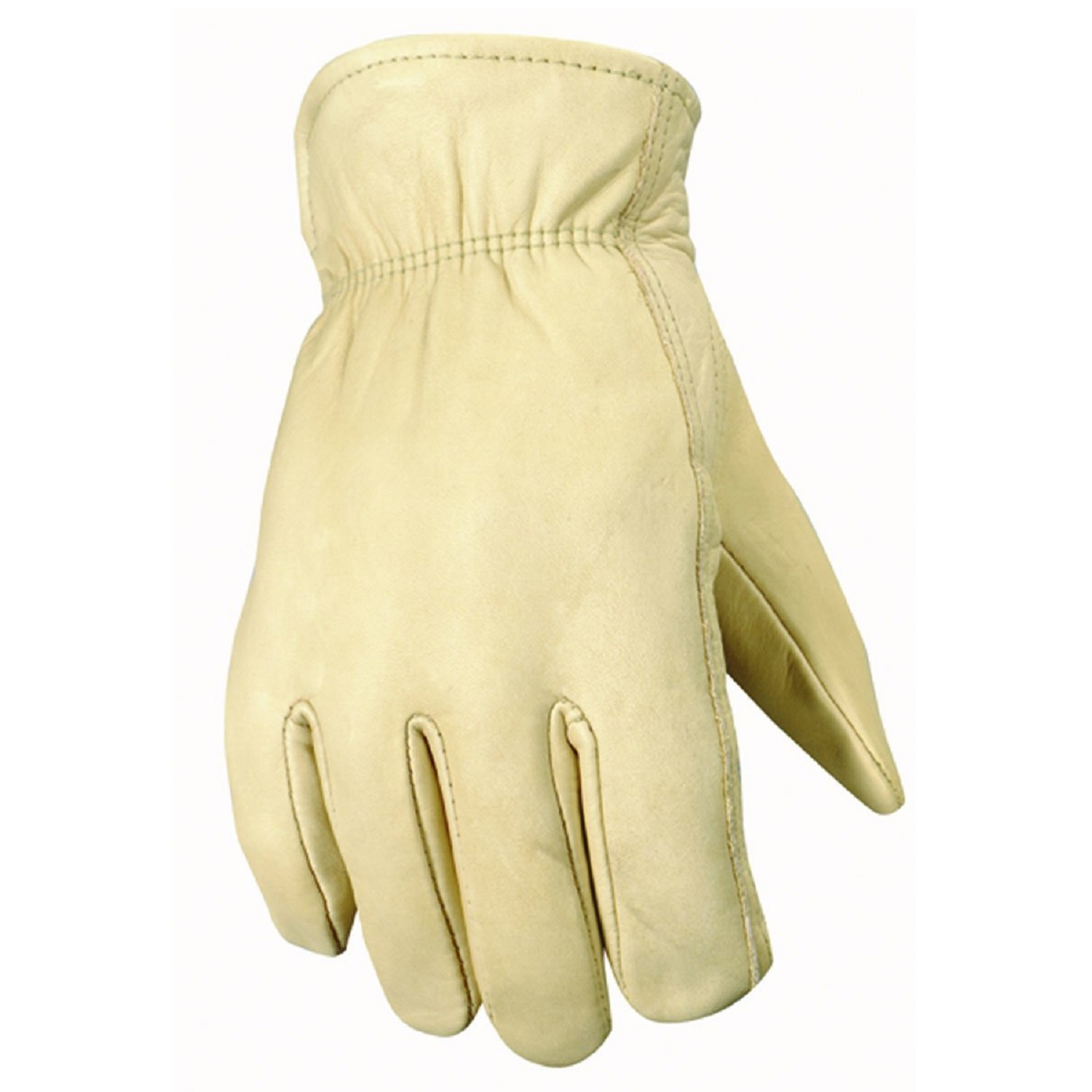 Leather work gloves with thinsulate lining - Wells Lamont Thinsulate Lined Leather Cowhide Work Gloves L Walmart Com