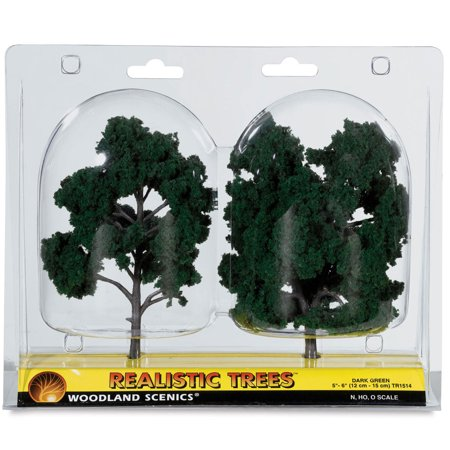- Woodland Scenics Model Scenery - Ready Made Trees, 5