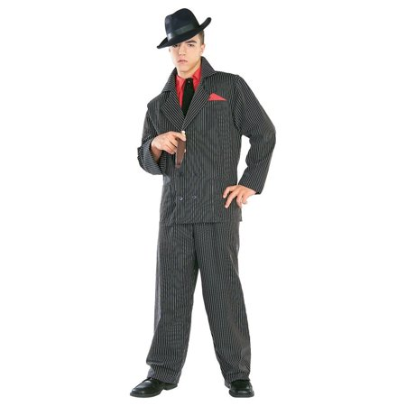 Men's Classic Gangster Costume](Halloween Gangster Couple Costumes)