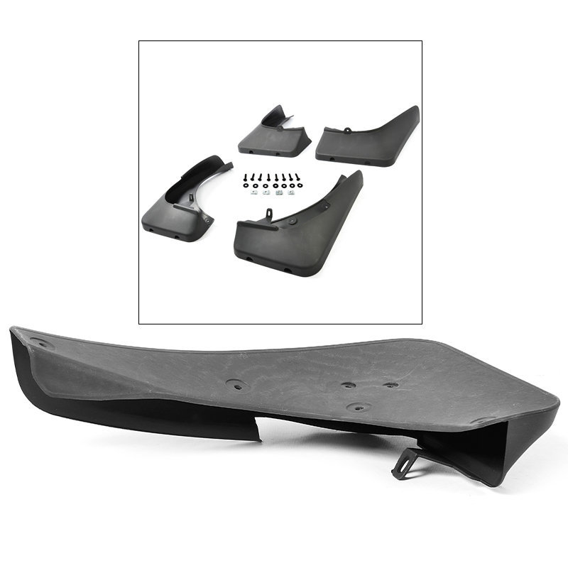OE Style 4 Pieces Front Rear Splash Mud Guards Flaps Set For 07-13 BMW X5 E70
