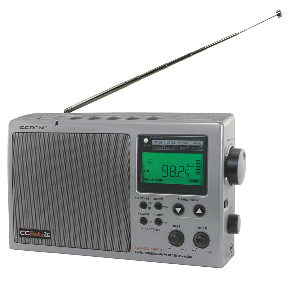 C. Crane CCRadio 2E Enhanced Digital AM, FM, Weather And 2 Meter