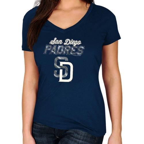 MLB San Diego Padres Plus Size Women's Basic Tee
