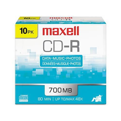 Maxell CD-R Discs MAX648210