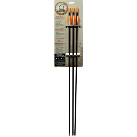 "Bear Archery Youth 30"" SafetyGlass Vaned Arrows, 3-Pack thumbnail"