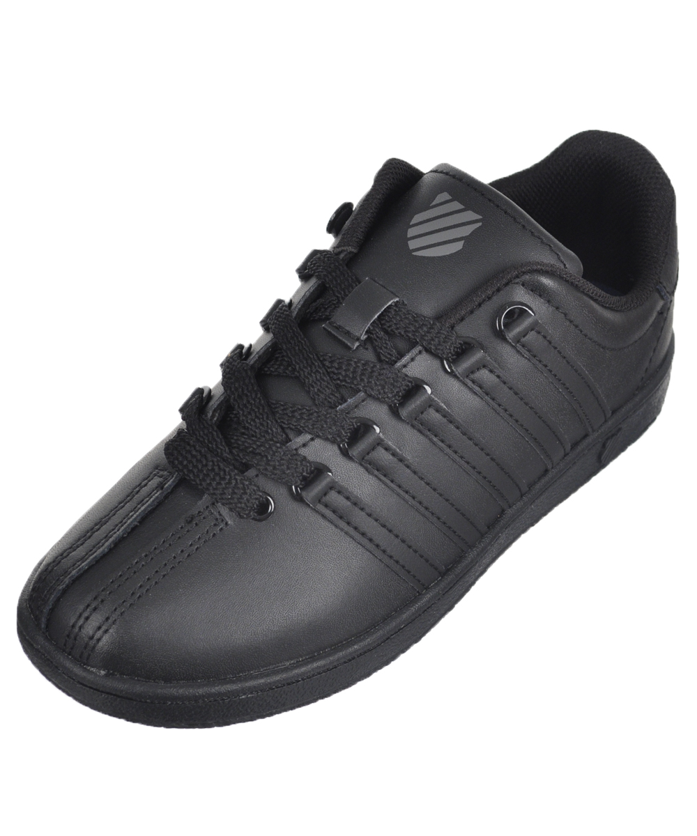 K-Swiss Boy's Classic Vn Leather Ankle-High Leather Fashion Sneaker by K-Swiss